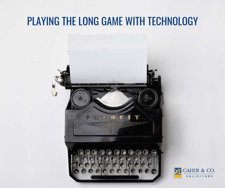 PLaying the Long Game with Technology