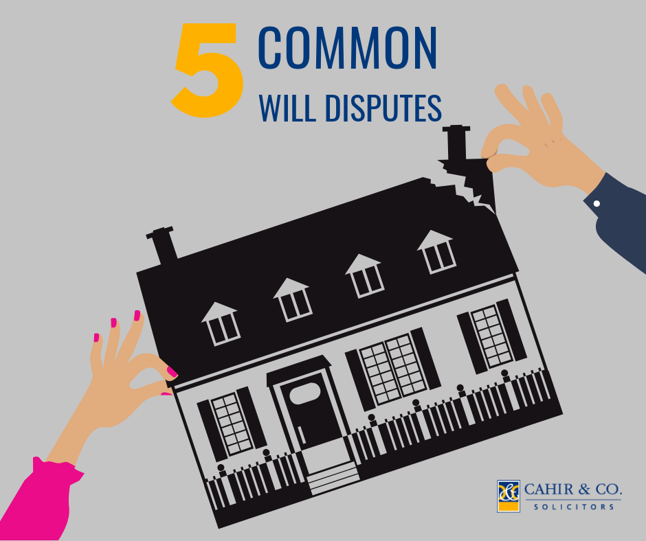 5 common will disputes