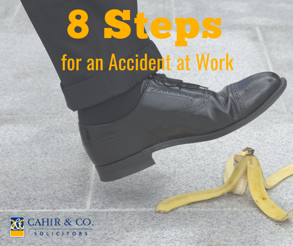 8 Steps for an Accident at work