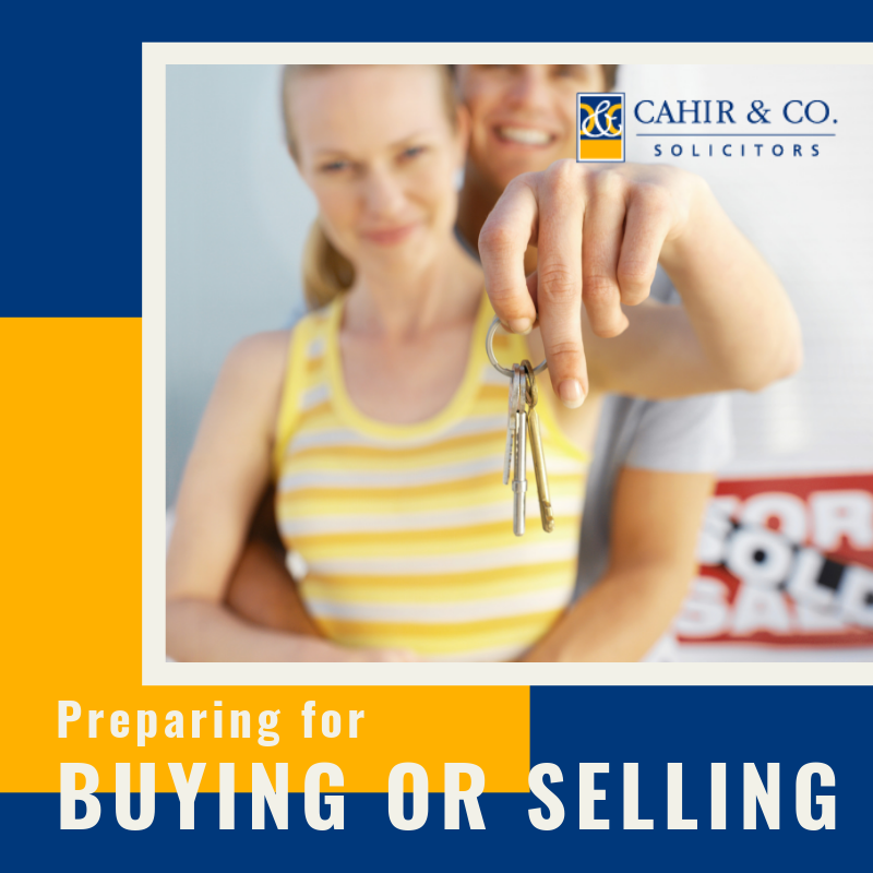 Buying and Selling a Property - How can we help