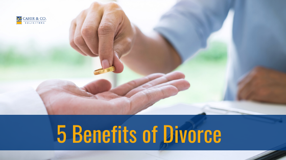 5 Benefits of Divorce