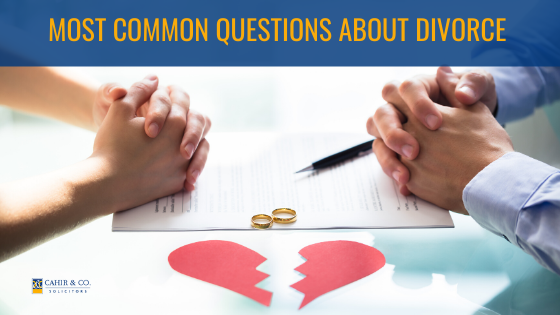Top 5 Questions About Divorce